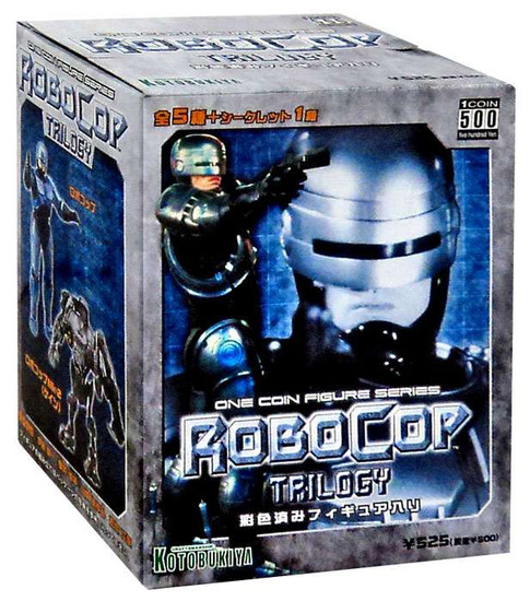 One Coin PVC Trading Figure Series 1 RoboCop Mystery Pack
