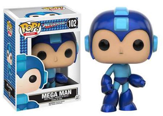 Funko POP! Games Mega Man Vinyl Figure #102