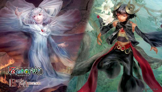 Force of Will Alice Cluster Battle for Attoractia Play Mat