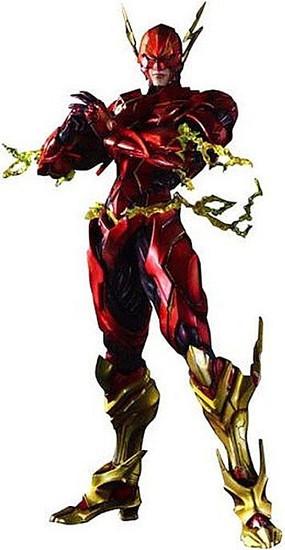 DC Play Arts Kai Variant The Flash Action Figure #04
