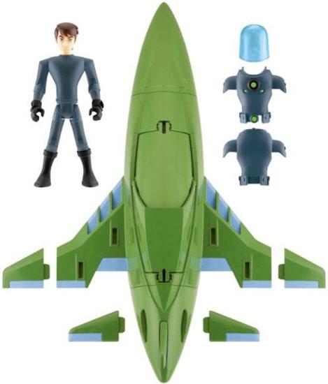 Ben 10 Ultimate Alien Rustbucket III Action Figure Vehicle [Damaged Package]