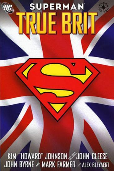DC Superman True Brit Hardcover