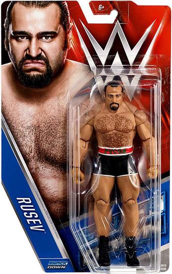 WWE Wrestling Series 63 Rusev Action Figure