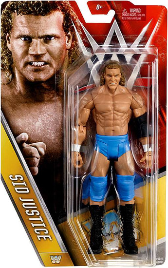 WWE Wrestling Series 63 Sid Justice Action Figure