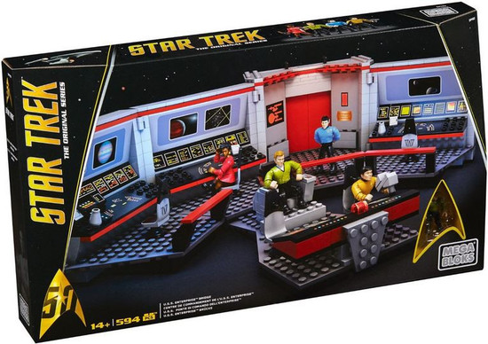 Mega Bloks Star Trek The Original Series U.S.S. Enterprise Bridge Set #31746