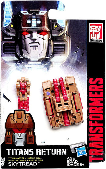 Transformers Generations Titans Return Skytread Master Action Figure