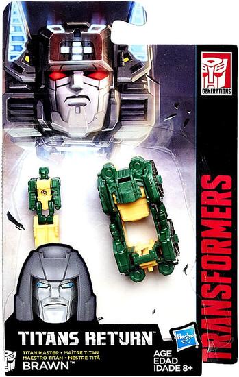 Transformers Generations Titans Return Brawn Master Action Figure