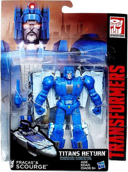 Transformers Generations Titans Return Fracas & Scourge Deluxe Action Figure