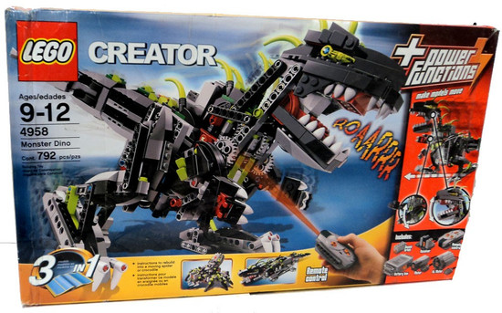 LEGO Creator Monster Dino Set #4958 [Damaged Package]