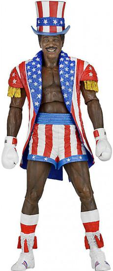 NECA Rocky IV Rocky 40th Anniversary Series 2 Apollo Creed Action Figure [Uncle Sam Hat & Coat]