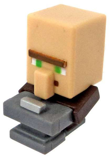 Minecraft End Stone Series 6 Blacksmith Villager 1-Inch Mini Figure [Loose]