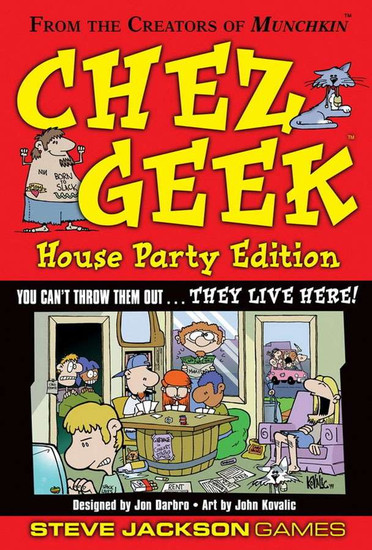 Chez Geek Card Game [House Party Edition]