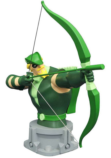 Justice League The Animated Series Green Arrow 6-Inch Bust