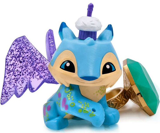Animal Jam Lucky Lynx with Light Up Ring Figure