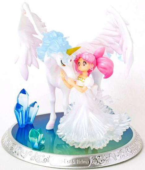 Sailor Moon Figuarts Zero Chouette Chibi-Usa and Helios Statue