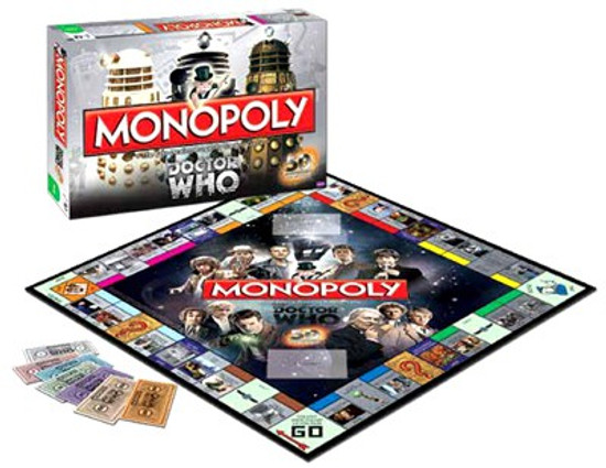 Doctor Who Monopoly Board Game [50th Anniversary Collector's Edition]