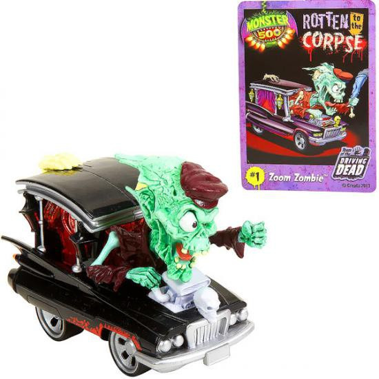 Monster 500 Large Car Zoom Zombie Vehicle Figure