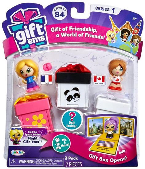 Gift 'Ems Series 1 Giftems 3-Pack [RANDOMly Chosen]