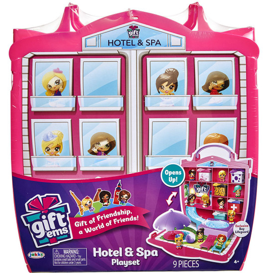 Gift 'Ems Series 1 Giftems Hotel & Spa Playset