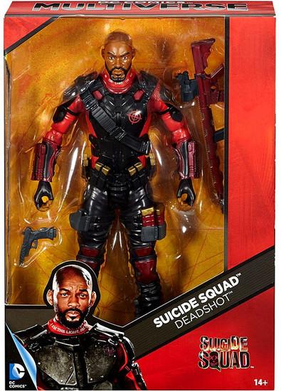 DC Suicide Squad Multiverse Deadshot Deluxe Action Figure