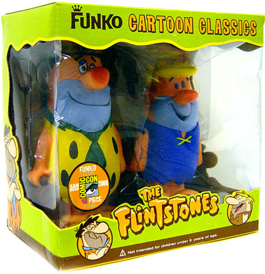 Funko The Flinststones Fred & Barney Figure 2 Pack [Loose (No Package)]
