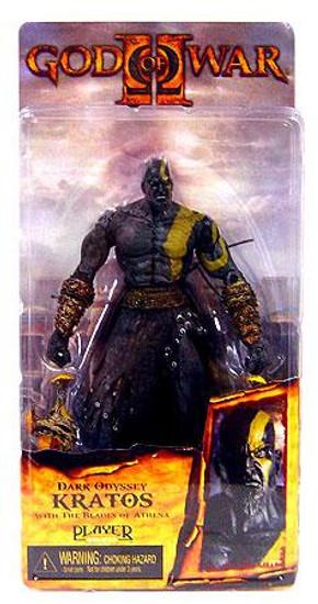 NECA God of War 2 Kratos Action Figure [Dark Odyssey, Damaged Package]