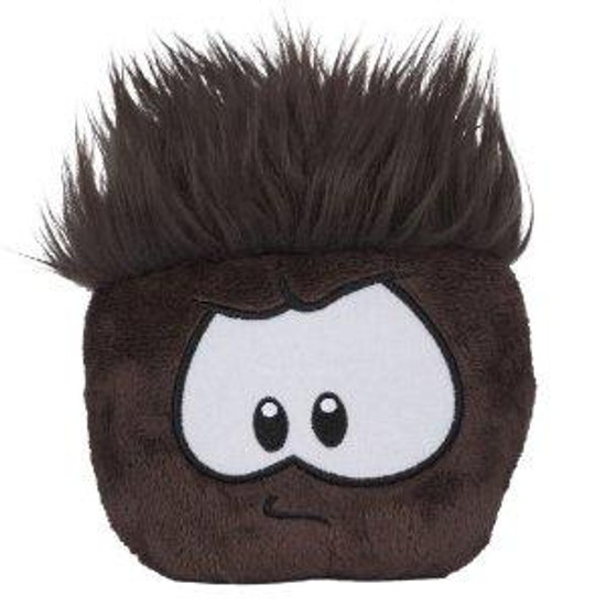 Club Penguin Series 7 Party Black Puffle 4-Inch Plush [No Coin]