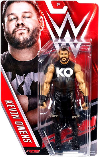 WWE Wrestling Series 65 Kevin Owens Action Figure