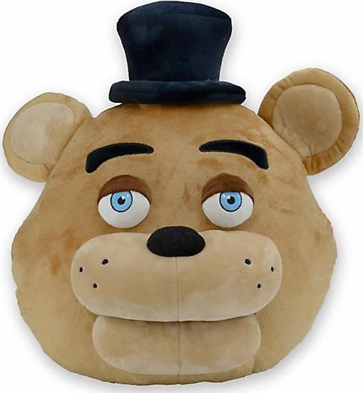 NECA Five Nights at Freddy's Freddy Fazbear Head Pillow