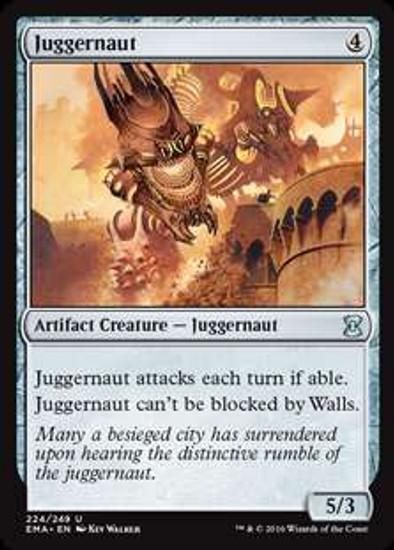 MtG Eternal Masters Uncommon Foil Juggernaut #224