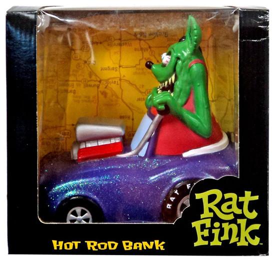 Funko Kustom Kulture Rat Fink Hot Rod Bank