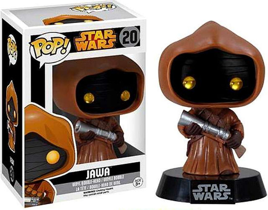 Funko POP! Star Wars Jawa Vinyl Bobble Head #20 [Vaulted Edition, Damaged Package]