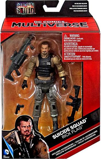 DC Suicide Squad Multiverse Rick Flag Exclusive Action Figure
