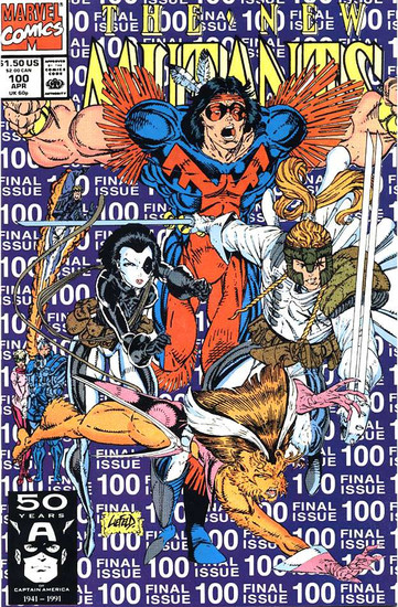 New Mutants #100 Comic Book [1st X-Force]