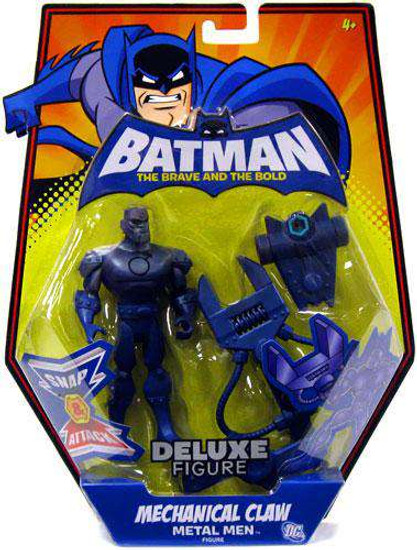Batman The Brave and the Bold Deluxe Mechanical Claw Metal Men Action Figure