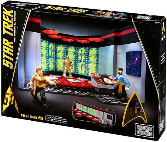 Mega Bloks Star Trek The Original Series Transporter Room Set #31745