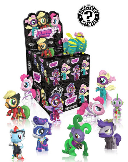 Funko Mystery Minis My Little Pony Series 4 (Power Ponies) Mystery Box [12 Packs]