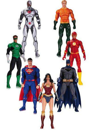 Justice League of America Action Figure 7-Pack [Rebirth]