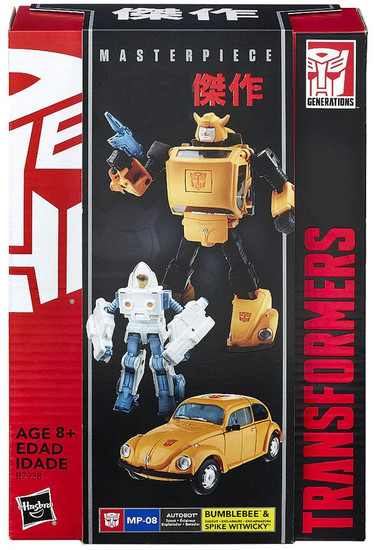 Transformers Masterpiece Collection Bumblebee & Spike Exclusive Action Figure