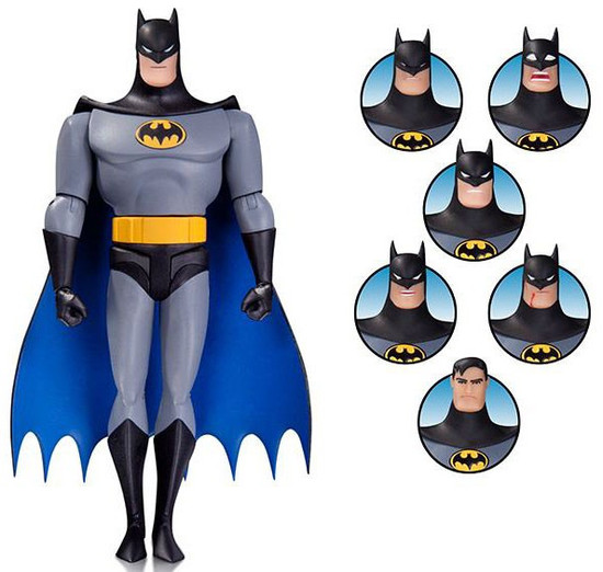 The Animated Series Batman Expressions Pack Action Figure