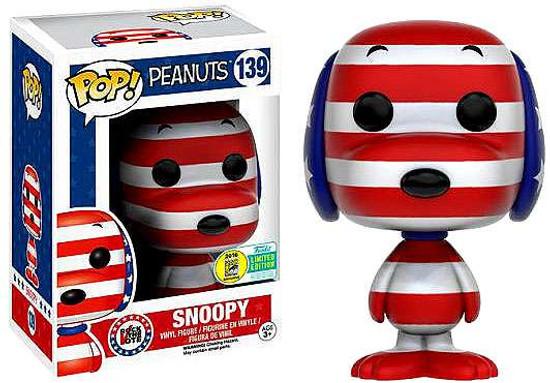 Funko Peanuts POP! TV Rock the Vote Snoopy Exclusive Vinyl Figures #139