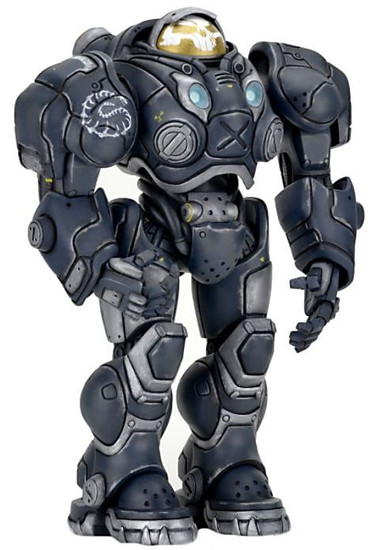NECA Heroes of the Storm Starcraft Series 3 Jim Raynor Action Figure [Renegade Commander]