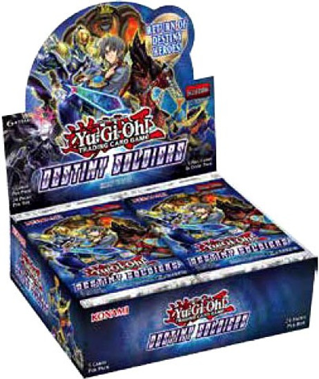 YuGiOh Trading Card Game Destiny Soldiers Booster Box [24 Packs]