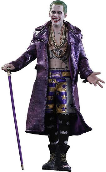 DC Suicide Squad Movie Masterpiece The Joker Collectible Figure [Purple Coat Version]