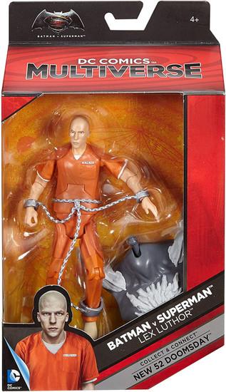DC Batman Vs. Superman Multiverse New 52 Doomsday Series Lex Luthor Action Figure