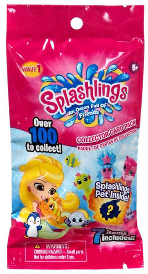 Wave 1 Splashlings Mystery Pack