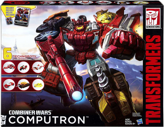Transformers Generations Combiner Wars Computron Action Figure Collection Pack