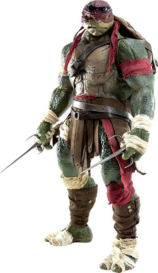 Teenage Mutant Ninja Turtles 2014 Movie Raphael Collectible Figure