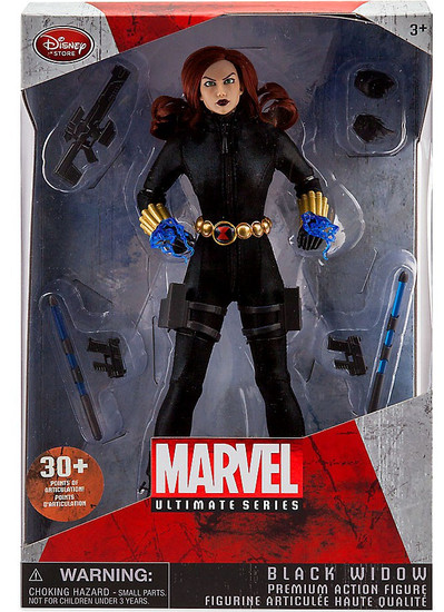 Marvel Ultimate Series Black Widow Exclusive Premium Action Figure