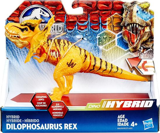 Jurassic World Bashers & Biters Hybrid Dilophosaurus Rex Action Figure